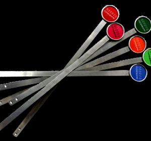 Security metal strap seal