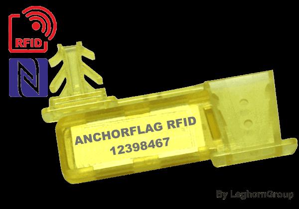 Συρμάτινη σφραγίδα Anchroflag UHF/RFID/NFC