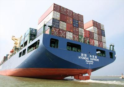 Διεθνείς μεταφορές με container