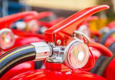 Σφραγίδες ασφαλείας για πυροσβεστήρες