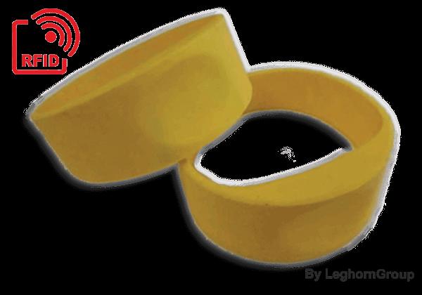 Βραχιολάκια σιλικόνης RFID UHF