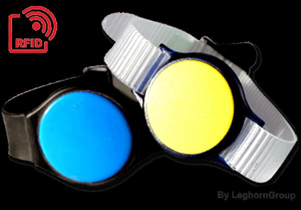 Βραχιολάκι ρολόι RFID LF/HF/UHF