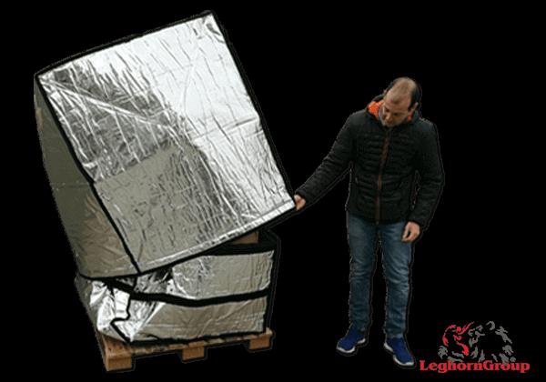 Κάλυμμα αλουμινίου για παλέτες TD 005