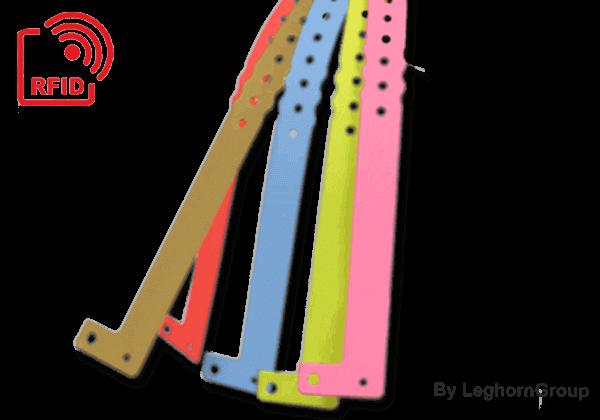 Πλαστικά βραχιολάκια RFID