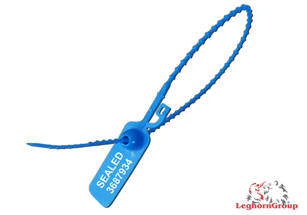 Πλαστικές ρυθμιζόμενες σφραγίδες ασφαλείας Adjustseal 3.3×425mm