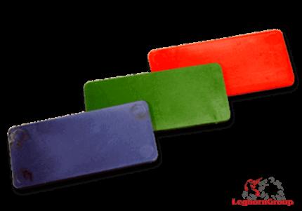 Πλαστικές Τετράγωνες Μάρκες