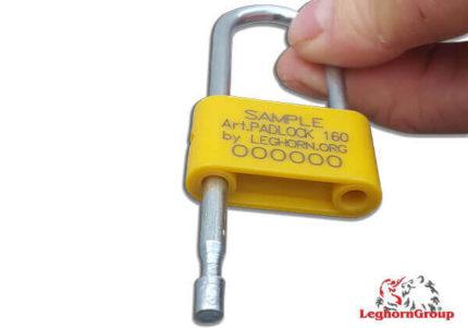 Σφραγίδα Λουκέτο Με Ατσάλινο Άγκιστρο Padlockseal 160-4