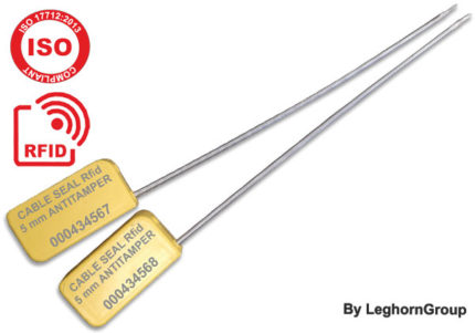 Σφραγίδα Με Συρματόσχοινο Rfid Uhf Υψηλής Ασφαλείας