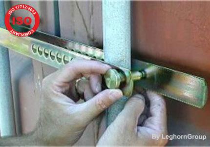 Σφραγίδες Με Διχάλα Για Κοντέινερ Iso Pas 17712 Forkseal C