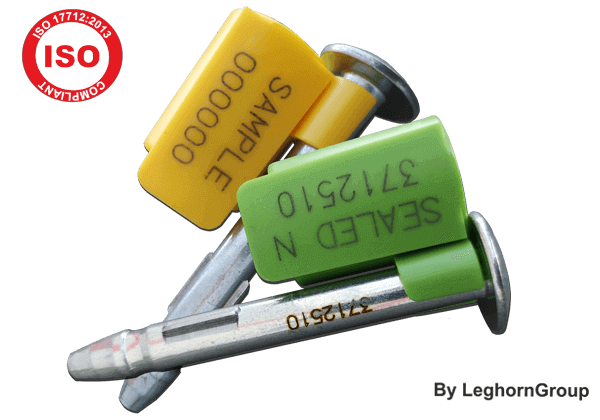 Σφραγίδες με καρφί για κοντέινερ ISO 17712 NEPTUNESEAL