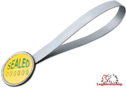 Σφραγίδες Με Μεταλλικό Έλασμα Strapseal
