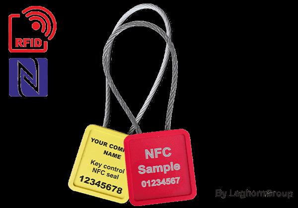 Σφραγίδες με συρματόσχοινο MINICABLE RFID – UHF/NFC
