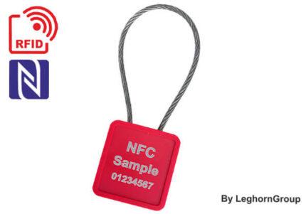 Σφραγίδες Με Συρματόσχοινο Minicable Rfid Uhf Nfc