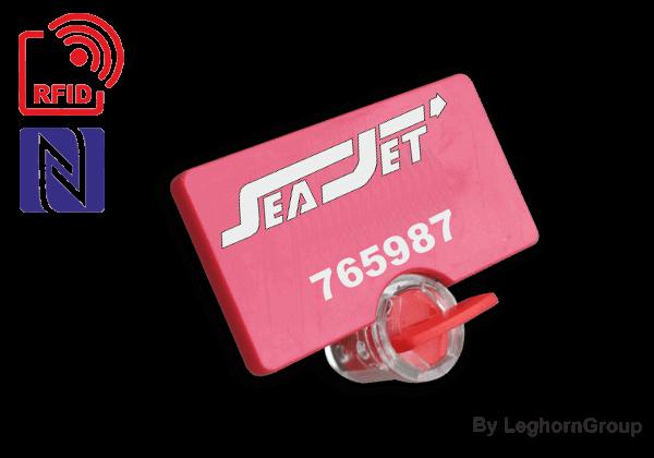 Σφραγίδες με σύρμα για μετρητές Twistseal RFID UHF