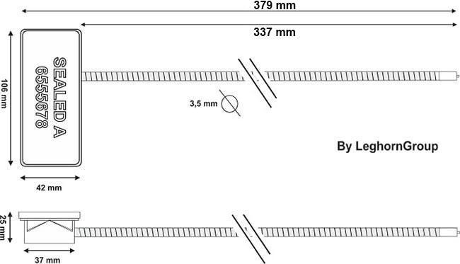 σφραγίδες με συρματόσχοινο rfid anti tamper περιγραφή