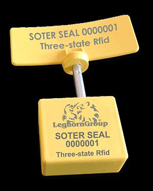 Σφραγίδα Ασφαλείας Με Καρφί Uhf Rfid Τριών Ελέγχων Soterseal