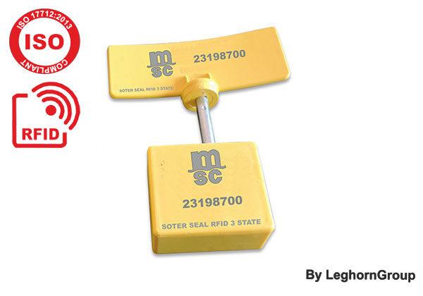 Σφραγίδα ασφαλείας με καρφί UHF RFID τριών ελέγχων SOTER SEAL