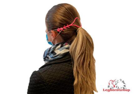 Άγκιστρο ελαστικού για τις ιατρικές μάσκες