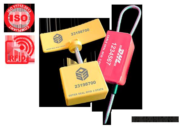 Σφραγίδες ασφαλείας RFID τριών ελέγχων